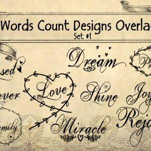#wordscountdesign